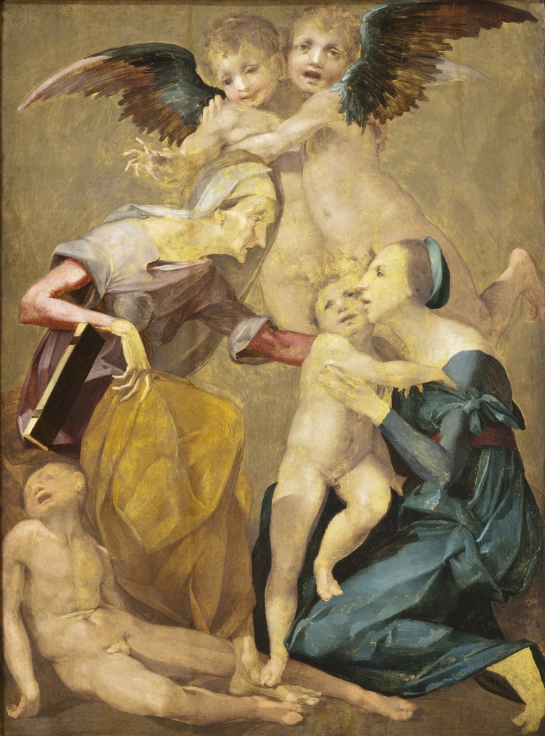 Allegory of Salvation with the Virgin and Christ Child, St. Elizabeth, the Young St. John the Baptist and Two Angels