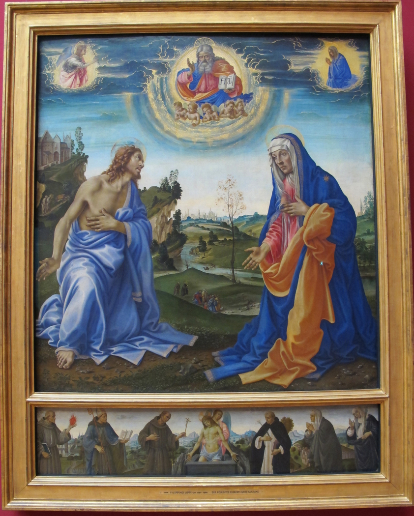 Apparition of Christ to the Virgin