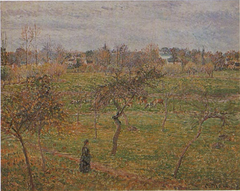 Apple Trees in a Meadow at Eragny