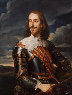 Archduke Leopold Wilhelm in armor (1614-1662)