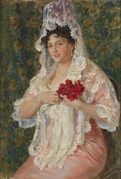Asunción Castro Crespo, wife of the painter