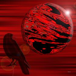 Bird & Red Planet