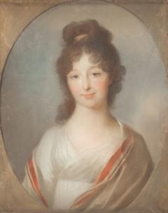 Brustbild der Caroline Tischbein