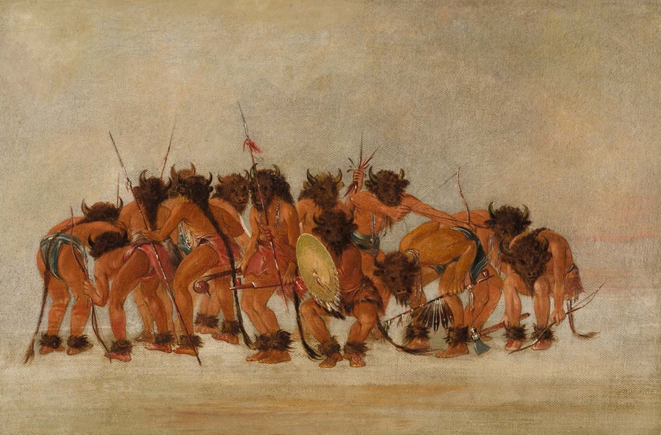 Buffalo Dance, Mandan