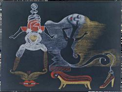 Cadavre Exquis - Exquisite Corpse (Landscape)