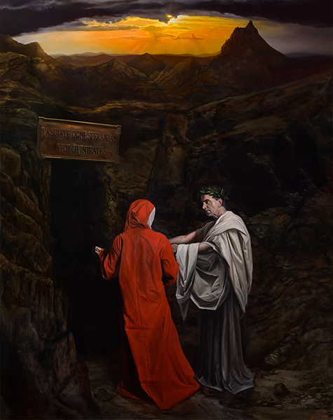 Canto 3: Dante and Virgil at the Entrance to Hell