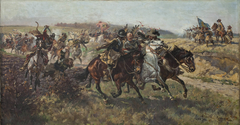 Capture of an armored comrade. Episode from the Swedish war