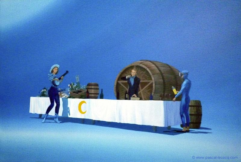 CHARGEZ LES CANONS (CELEBRATION DES CINQ SENS) - Fill the cups, Celebration of the five senses - by Pascal