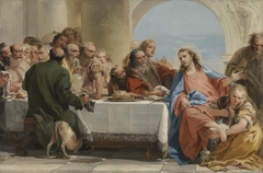 Christ and Mary Magdalen in the house of Simon the Pharisee