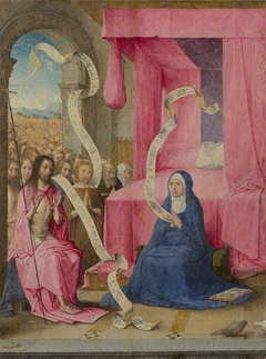 Christ appearing to the Virgin