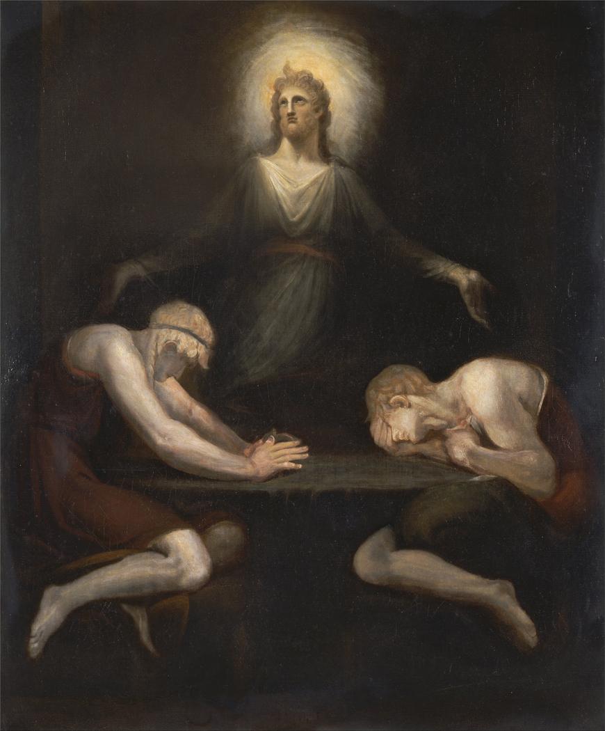 Christ Disappearing at Emmau