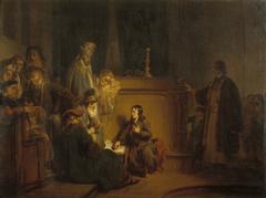 Christus voor de schriftgeleerden