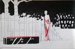 CLAUDIQUANTE SARAH B - Limping Sarah Bernhardt - by Pascal