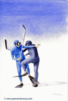 CROSSES 2 - Hockey sticks 2 - by Pascal