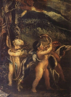 Cupids Preparing for the Chase