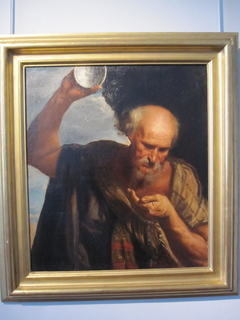 Diogenes drinks