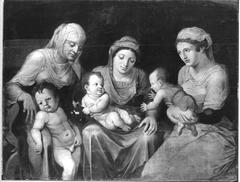Drei Frauen mit ihren Kindern (Kopie nach)
