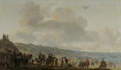 Embarkation of Charles II, King of England, at Scheveningen, 2 June 1660