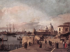 Entrance to the Grand Canal from the Molo, Venice