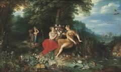 Erde und Wasser und Frans Francken d. J.