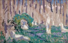 Esquisse pour Orphée aux jacinthes