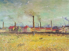 Factories at Asnieres, seen from the Quai de Clichy