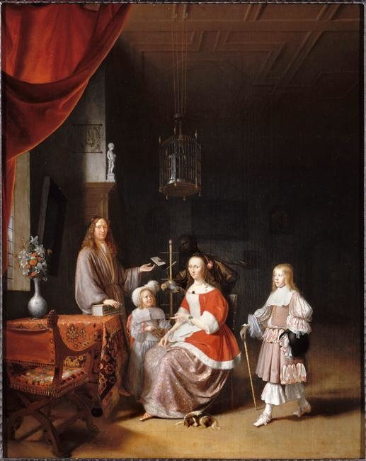 Family portrait of Johannes Meerman