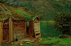 Farmhouse at Balestrand
