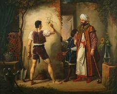 Filippo Lippi, esclave à Alger, fait le portrait de son maître