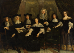 Five regents and two regentesses of the Spin and New Workhouse