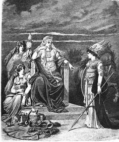 Frigg and her Attendants