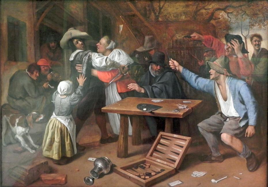 Gamblers Quarrelling