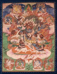Garuda-Feathered Hayagriva and Consort