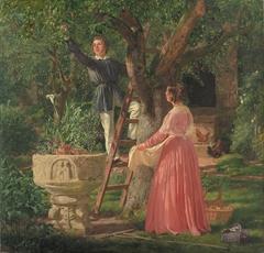 Haven med den gamle døbefont