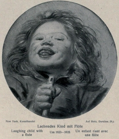 Head of a boy with a flute
