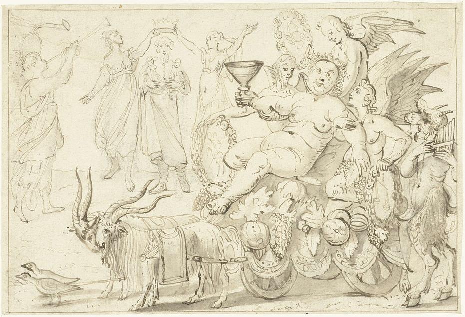 Herfst of De triomf van Bacchus