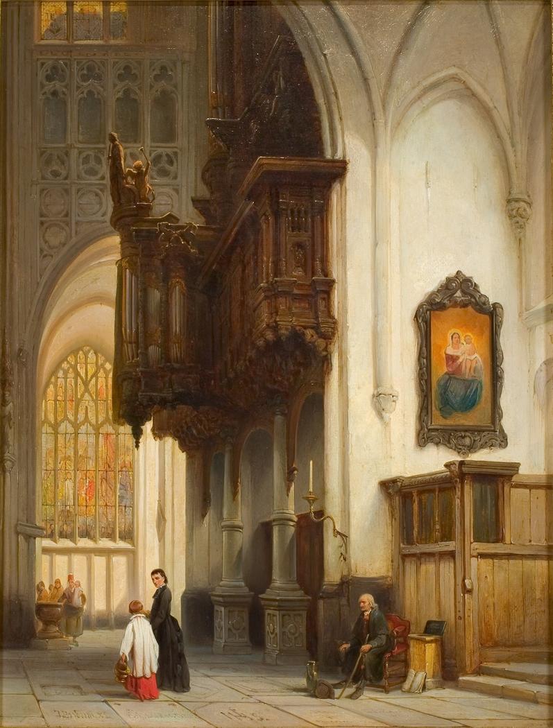 Het orgel in de Sint-Janskerk te 's-Hertogenbosch
