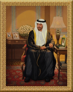 HH Sheikh Mohammed Bin Zayed - Grand Portrait