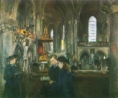 Interior from the Church Trefoldighetskirken