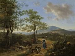 Italian Landscape with Herders