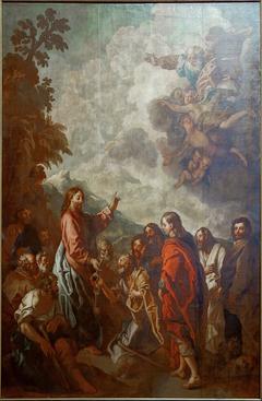 Jésus donnant les clefs à saint Pierre