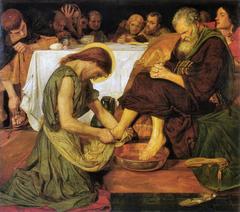 Jesus Washing Peter's Feet