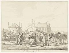 Karnemelksloot te Naarden, 11 januari 1814