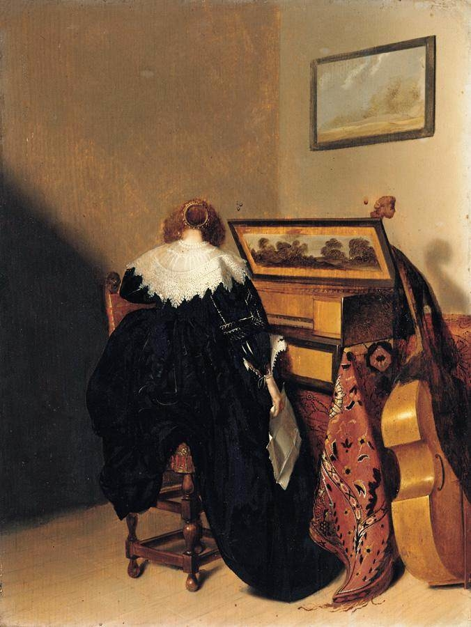Lady Seated at Virginals