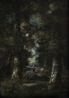 Landscape (Path in the Woods)
