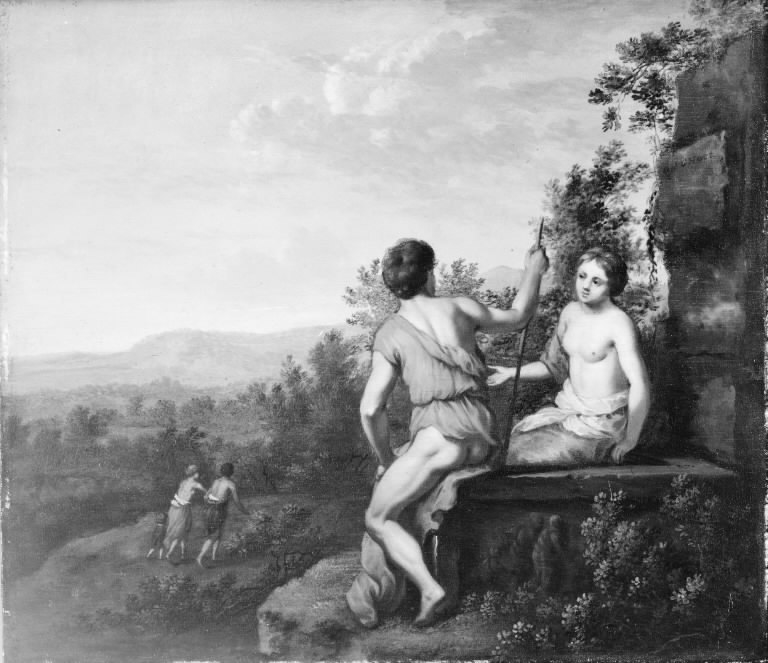 Landscape with Shepherd and Shepherdess