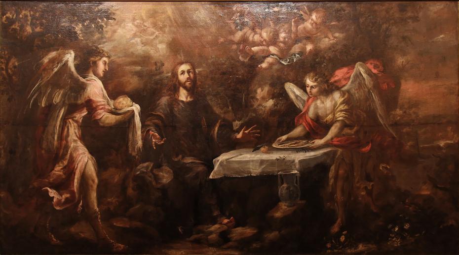Le Christ servi par les anges
