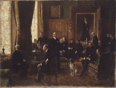 Le salon de la comtesse Potocka