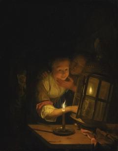 Lovers by Lantern-light