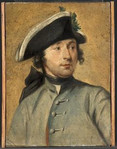 Ludolf Bakhuysen II (1717-82). Schilder en militair, kleinzoon van de zeeschilder Ludolf Bakhuysen I